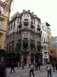 Old buildings off main pedestrian Street that are being threatened