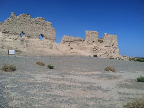 Ruins of Dunhuang Palace