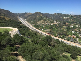 I-405 Freeway Access to Getty Center