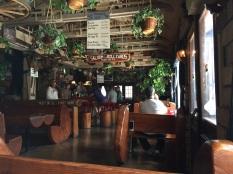 interior of diner