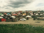 1a. Yurts in Mongolila