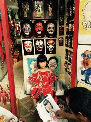 Mask Shop with Cartoonist