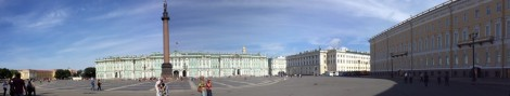 Plaza in front of Hermitage