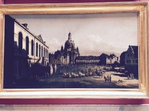 Dresden Neumarkt, Bernardo Bellotto, 1720