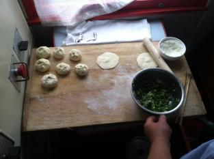 Baozi made in pantry