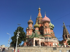 St Basil's in Red Square