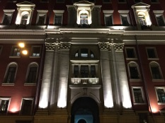Beautiful Facade by night