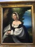 Portrait of a Woman, Coreggio,