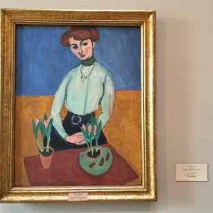 Matisse, Girl with Tulips, 1910