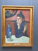 Picasso, Absinthe Drinker 1901