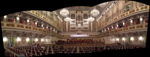 Interior of Konzerthaus