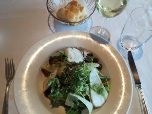 Salad with Shaved Mushrooms, Salzburg Modern Art Museum