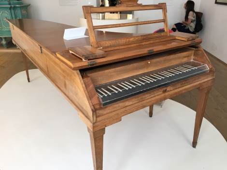 One of Mozart's Pianos
