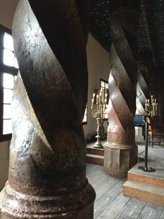 Turned Stone Columns?