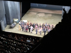 Curtain Call for Iphegenie et Tauride with Rolando Villazon and Cecilia Bartoli