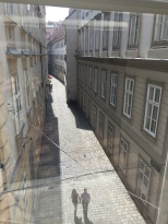 Side Street to Mozart's House in Vienna