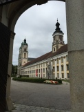 First Arrival View of St. Florian
