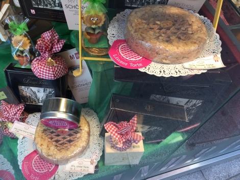 Showcase version of Linzer Torte