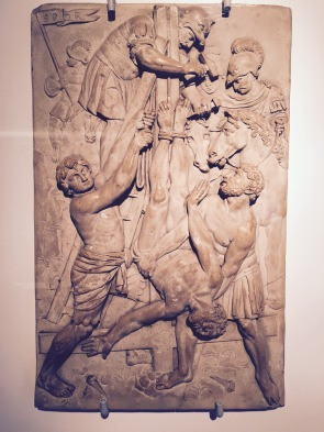 Stone relief by Leonhart KErn