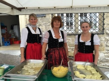 Ladies in Traditional Dirndls
