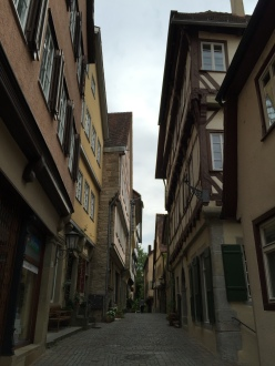 Narrow Paths between buildings