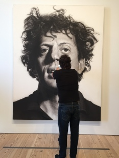 Chuck Close, with Art Lover