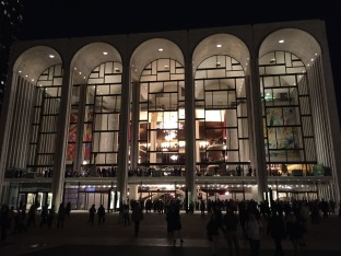 Lincoln Center Evening View