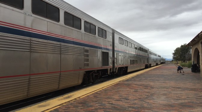 Day 76: Chicago to Santa Fe, NM and the Amtrak vs. TME Report