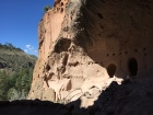 The cave dwelling at the top