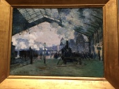 Normandy Train, Monet
