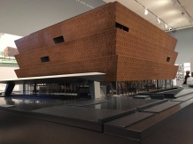 Model for Museum of African-American History and Culture, Wash. DC