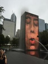 Millenium Park Fountain