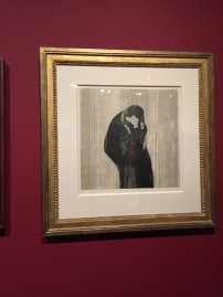 The Kiss by Munch