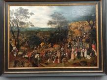Brueghel, Die Kreuztragung, 1606