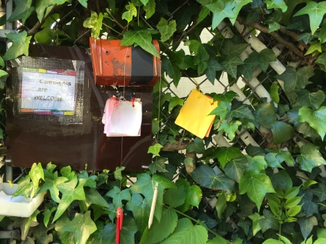 Mini Mailbox for Messages