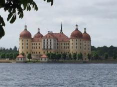 Exterior of Moritzburg Castle