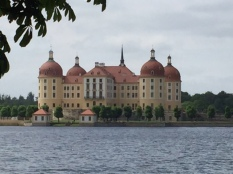 Exterior of Moritzburg Castle