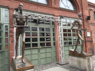 Favorite Sculptures at Cultural Brewery