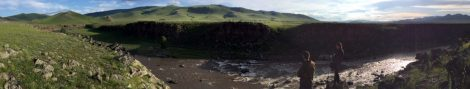 Gorge of Orkhon River, Mongolia