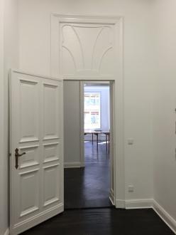 Gallery Bucholz Art Nouveau panels above doorways