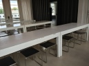 Dining Hall tables and chairs