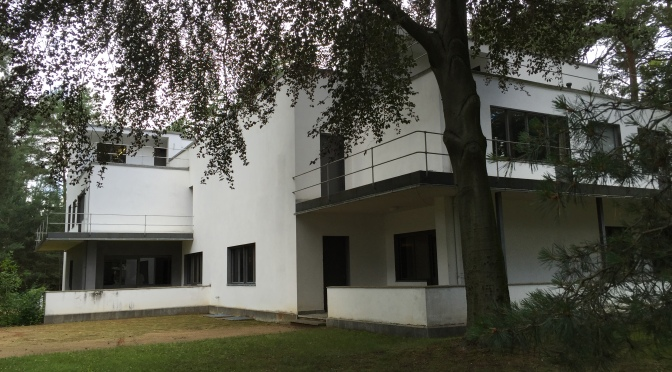 Day 39: Bauhaus in Dessau, A UNESCO World Heritage Site