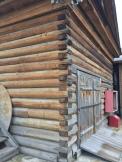 Corner Log Detail