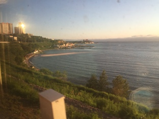 Nearing Vladivostok
