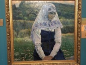 Jesus' Bride, 1913, by Nesterov