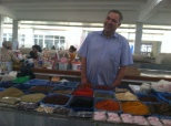 Friendly Market Vendor