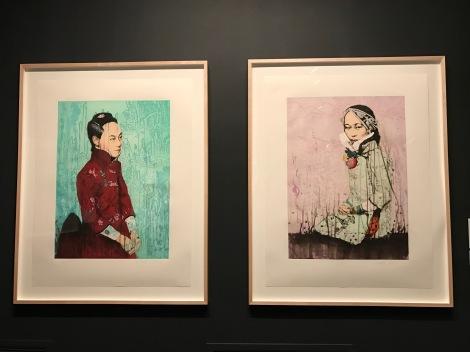Hung Liu Portraits