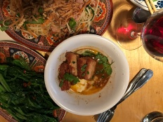 Green Papaya Salad and Pork Belly