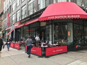 Five Napkin Burgers