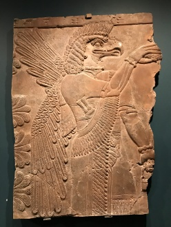 Assyrian Relief, Nimrud, Iraq, ca. 900BC